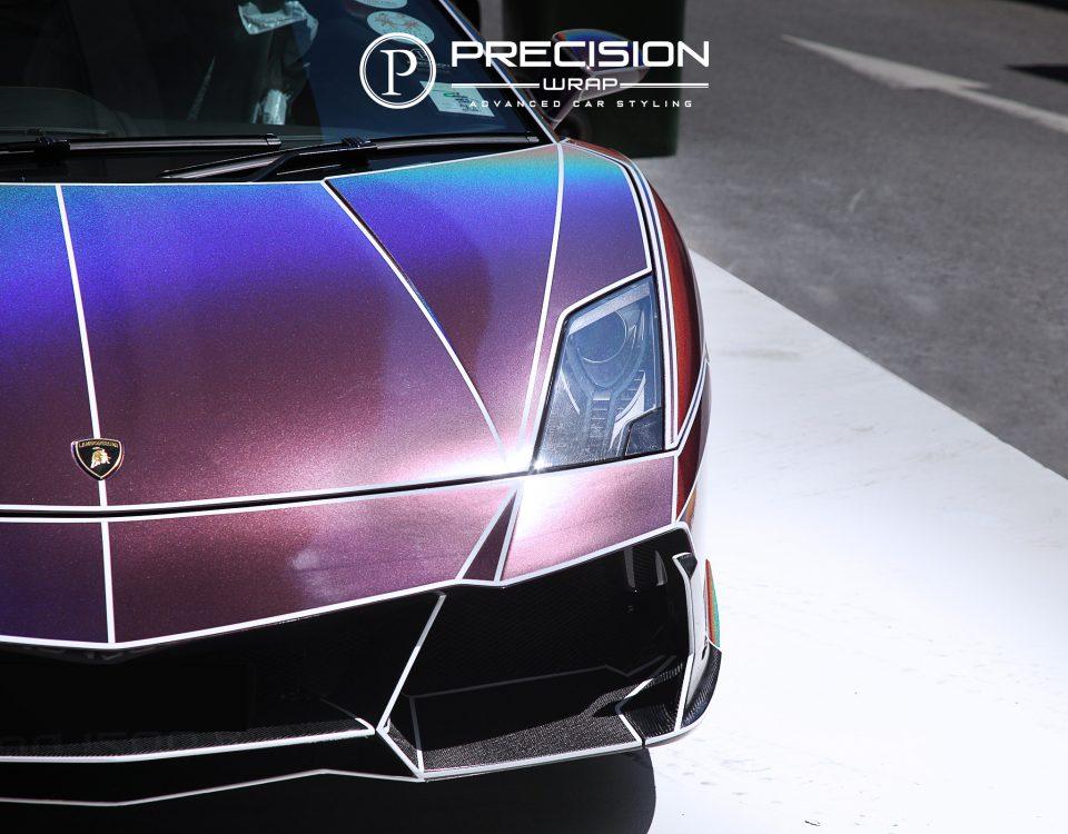 Lamborghini LP700 Aventador X Gold Chrome Forgiato Rims